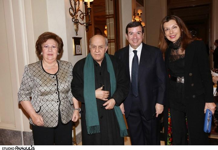 Καίτη Τζιτζικώστα, Αλέκος Φασιανός, Τάκης Μαυρωτάς, Μαρίζα Φασιανού