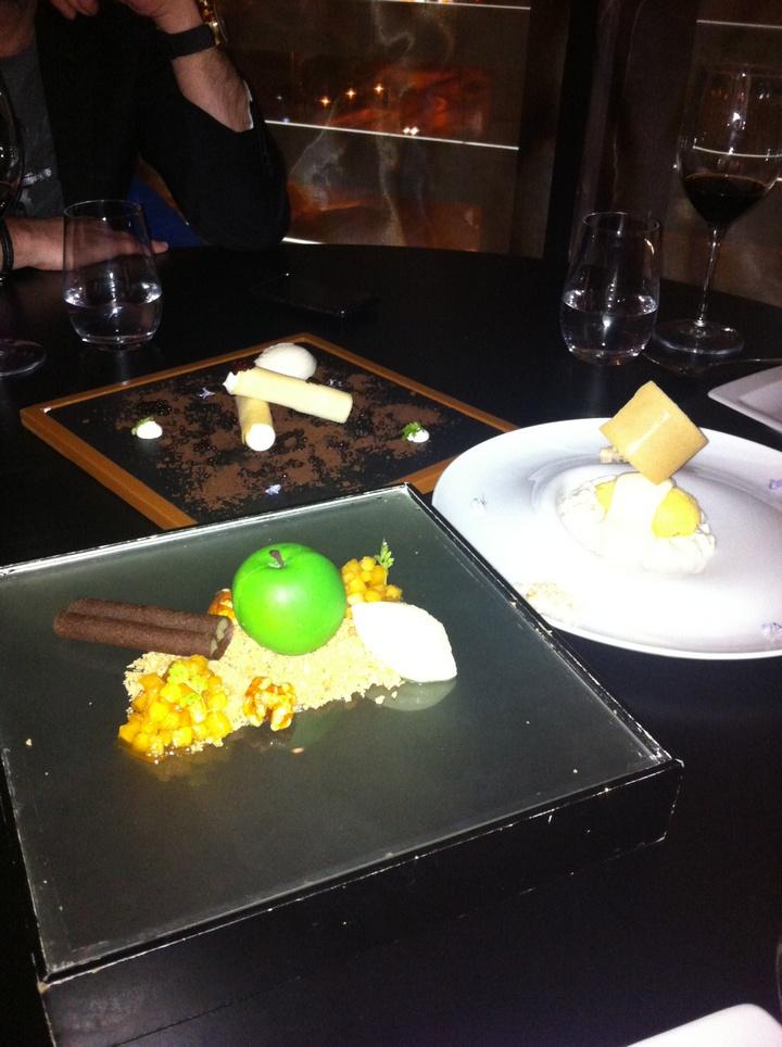 Το desert plate...