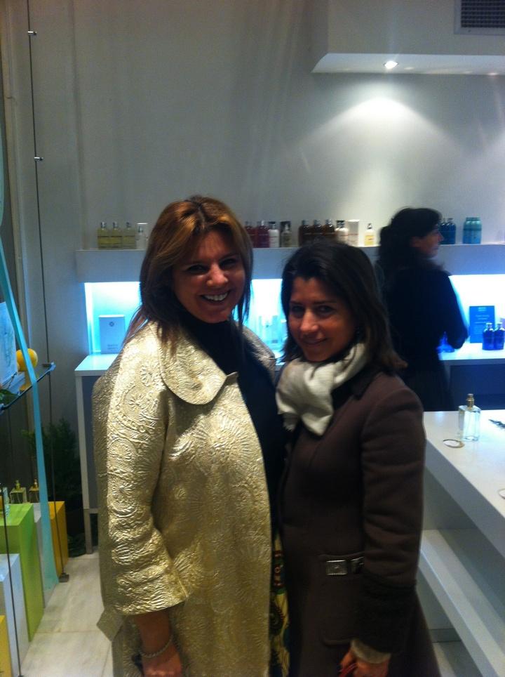 Με την αγαπημένη μου Γιασμίν Οικονομοπούλου