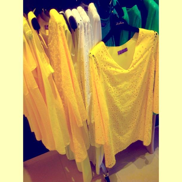 Εκτυφλωτικό κίτρινο του ήλιου!