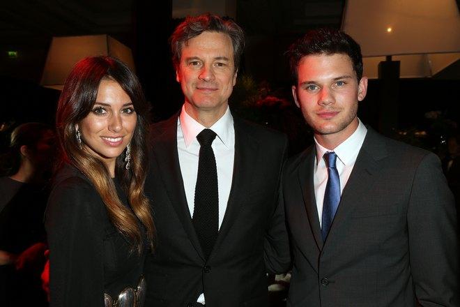 Blanca Suarez, Colin Firth, Jeremy Irvine