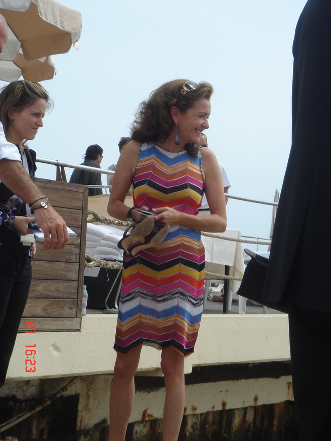 Η πραγματική οικοδέσποινα των Φεστιβάλ, η Caroline Scheufele. Star!