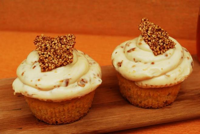 Cupcakes με γεύση παστέλι...
