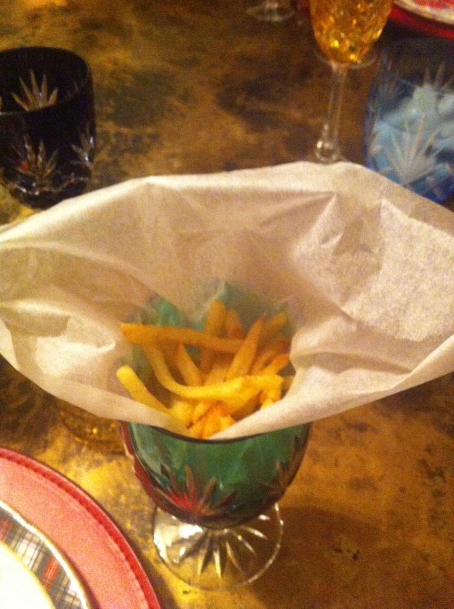 French fries , το απόλυτο συνοδευτικό...