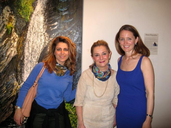 Οι κυρίες Νησιακούλη, Σολωμονίδου και Laura Walford