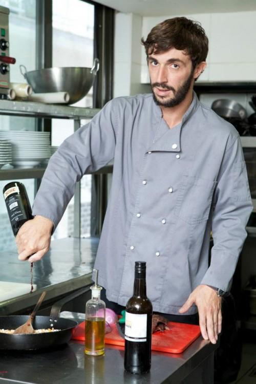 Ο σεφ Μάνος Ζουρναντζής