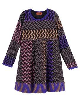 Girls long sleeve dress mohair hem detail, από 378 ευρώ, 151,20 ευρώ!