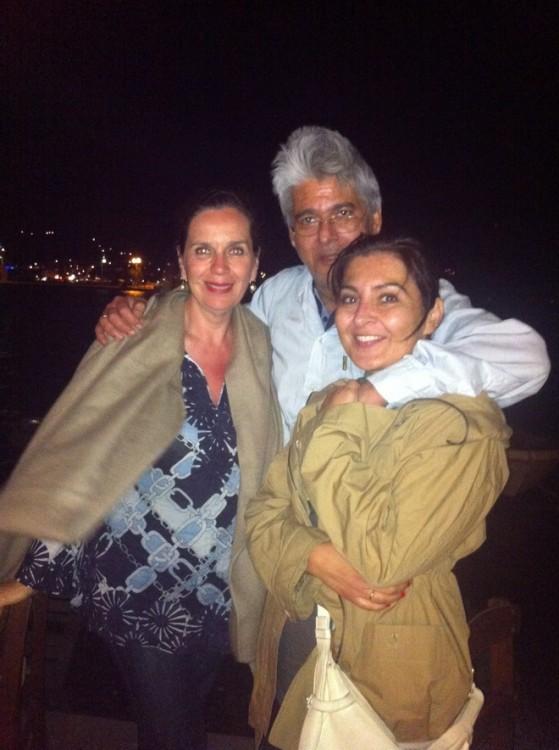 Τατιάνα Σπινάρη-Πολλάλη, Τάσος και Χριστίνα Ματζαβίνου