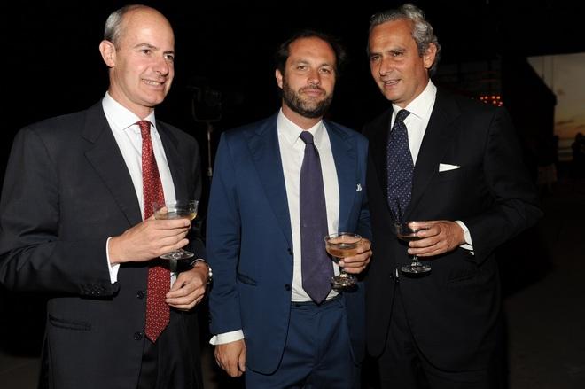 Filippo De Peverelli, Francesco Melzi Deril, Rodrigo Cipriani