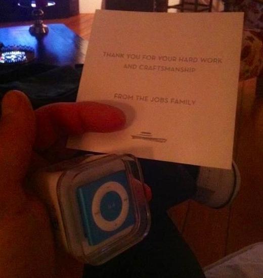 Το Thank you Note του Steve Jobs...