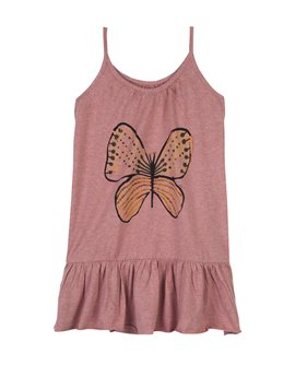 Soft Gallery Pink Cotton Jersey Butterfly Dress, 33 euro