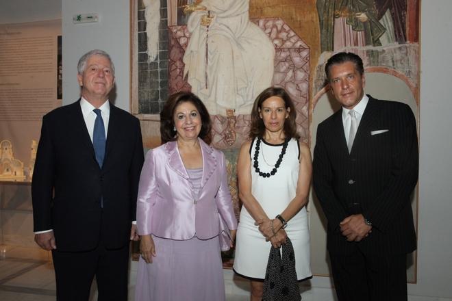 Πρίγκιπας Αλέξανδρος της Σερβίας, Πριγκίπισσα Αικατερίνη της Σερβίας, Αναστασία Βασιλιάδη, Δρ. Ζήσης Μπουκουβάλας