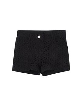IDO-black sangallo cotton shorts, 28,80 euro