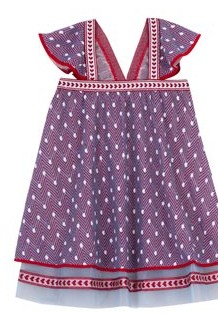Missoni Zig Zag knited dress with tulle trim, 160 euro