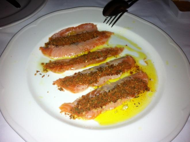 Crispy Salmon...