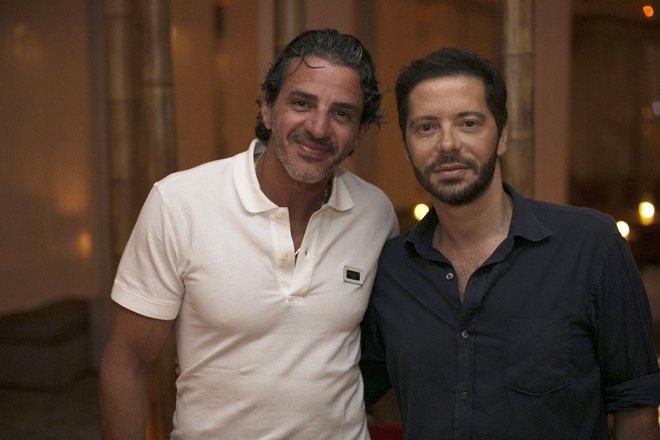 Με τον Ayman Bakey