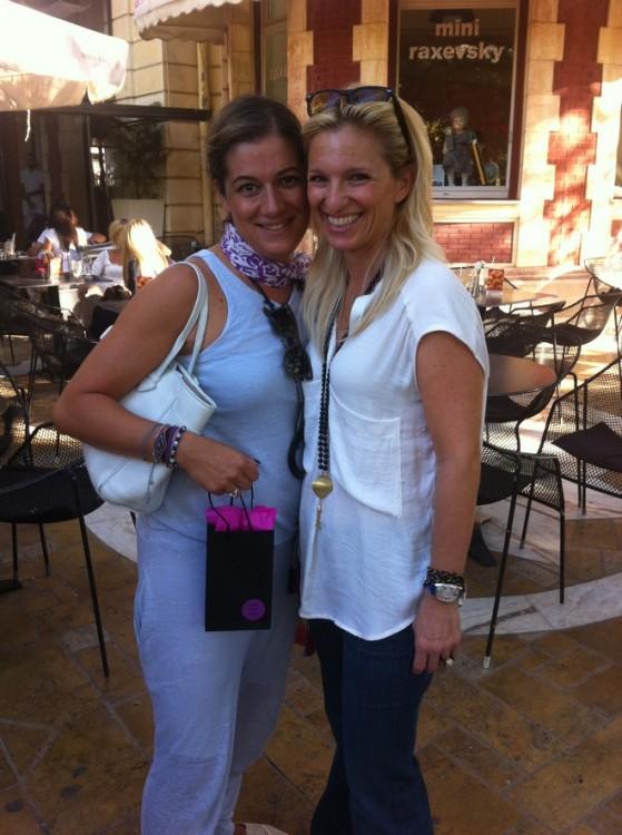 Με τις αγαπημένες μου Σαλώμη Φλουτάκου και Βανέσσα Γερουλάνου, χθες το απόγευμα στο Kayak φυσικά, όσο τα κορίτσια μας είχαν μάθημα μπαλέτου...