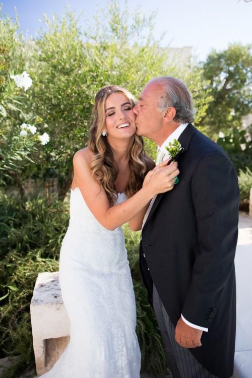 H νύφη με τον πατέρα της, Fawaz Gruozi