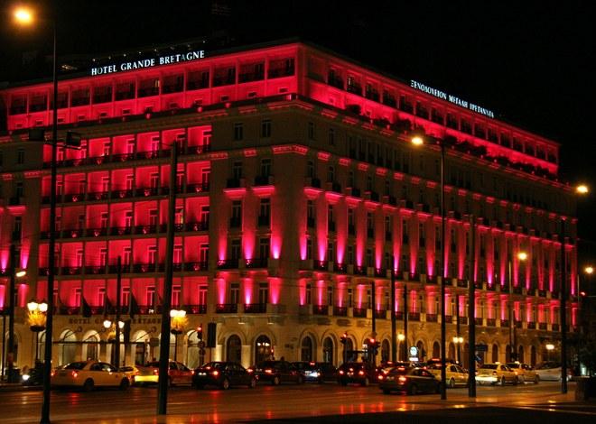 Athens, Grand Bretagne Hotel...