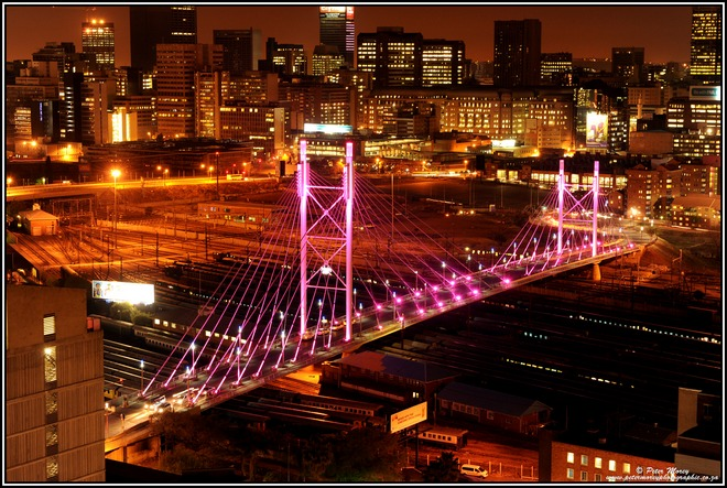 South Africa, Nelson Mandela Bridge...