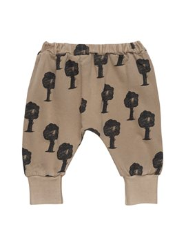 Bobo Choses, baby cotton sweatpants with forest trees print
