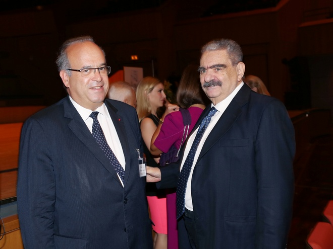 Dr. David Khayat, Βαρδής Βαρδινογιάννης