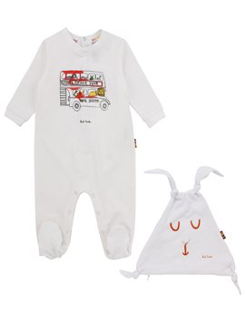 Paul Smith Junior, Pyjama & Dou Dou Gift Set in a Tin Gift Box