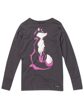 Girls Coal Fox T-Shirt