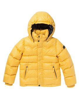 Bright Yellow Puffer Jacket