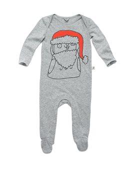 Baby Grey Santa Claus Pyjama