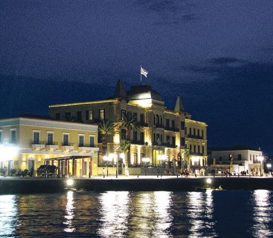 Last night, after the storm in Spetses...