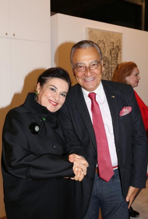 Μαρίνα Λαμπράκη-Πλάκα, Μάκης Μάτσας
