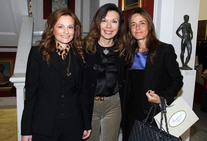 Τάνια Παπακωνσταντίνου, Μαρίζα Φασιανού, Νινέττα Πατέρα