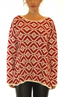 Merry Christmas!!!! With this Maya Sweater by Maraveya...