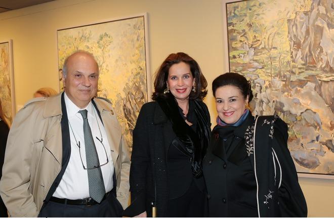 Σπύρος και Τατιάνα Πολλάλη, Μαρίνα Λαμπράκη-Πλάκα