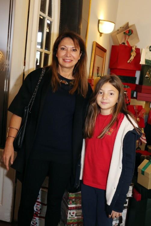 Η Σοφία Κούστα με την κόρη της, right after school!