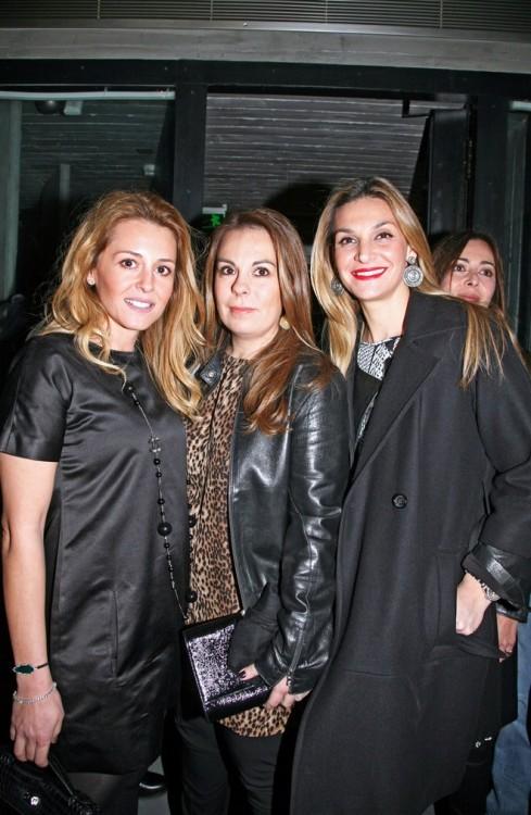 Ιωάννα Μουτσίδη, Νάνα Μπελιμπασάκη-Μετζελοπούλου, Ελίνα Μπακατσέλου