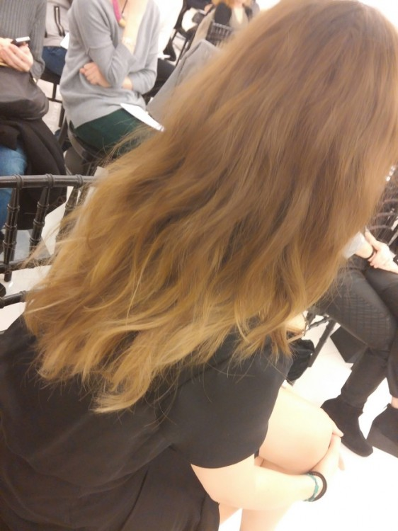 Τα πιο ωραία matte μαλλιά , by far της Κατερίνας Νταλαμάνγκα, δια χειρός Philippe φυσικά...