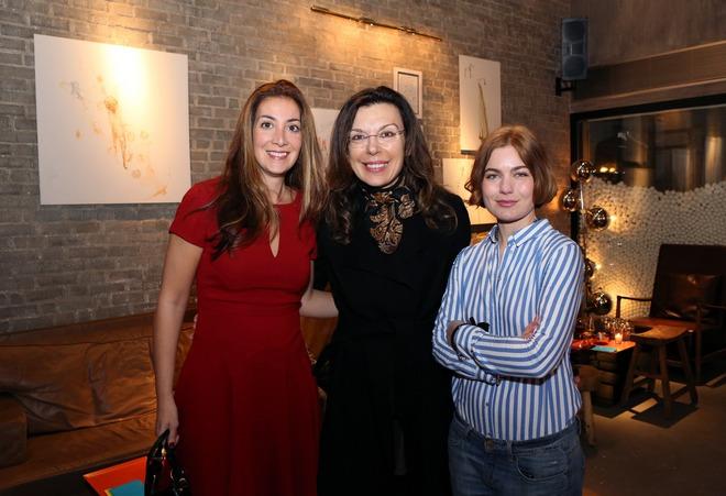 Άννα Χατζηνάσιου, Μαρίζα Φασιανού, Γεωργία Σαγρή