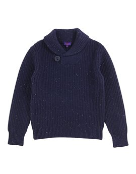 Paul Smith Junior, Boys Cotton and Wool Knit Sweater