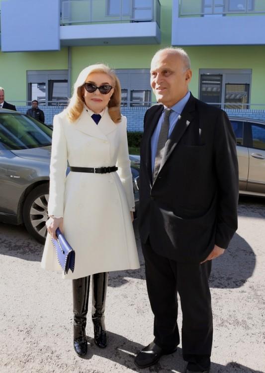 Μαριάννα Βαρδινογιάννη, Δρ. Μαγκντί Γιακούμπ
