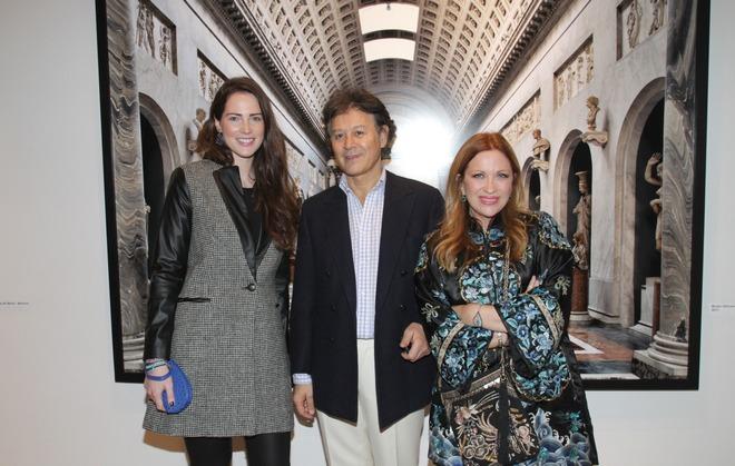Ναταλία Τσαβλίρη, Massimo Listri, Καλλιόπη Καρβούνη