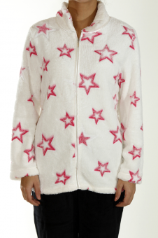 Soft Fleece Jacket Stars