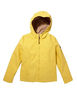 Unisex Lemon Yellow Waterproof Jacket