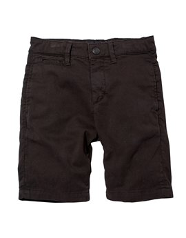 Boys Black Shadow Chino Bermuda Shorts