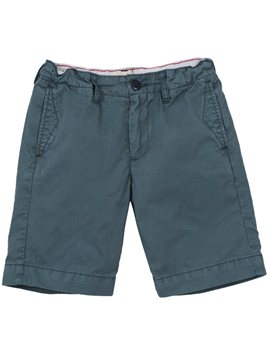 Boys Khaki Cotton Twill Bermuda Shorts