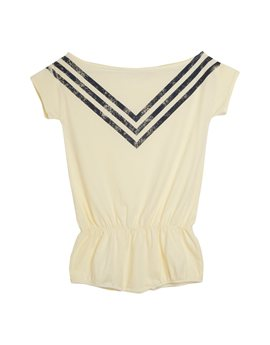 Girls Flashdance Tribute Triple Stripes Shortalls