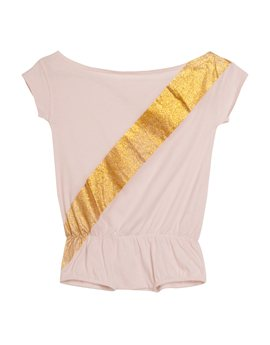 Girls Flashdance Tribute Sash Shortalls...