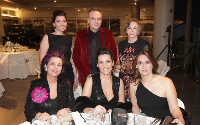 Κατερίνα Παλιού, Σωτήρης Κομματάς, Χρυσάνθη Λαιμού, Ραλία Τερζοπούλου, Μάγδα Λέκκα
