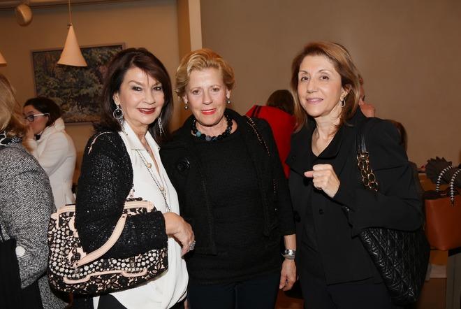 Μαρίνα Λεμονή, Χριστίνα Σαρακάκη, Λιλέτα Μπούδα